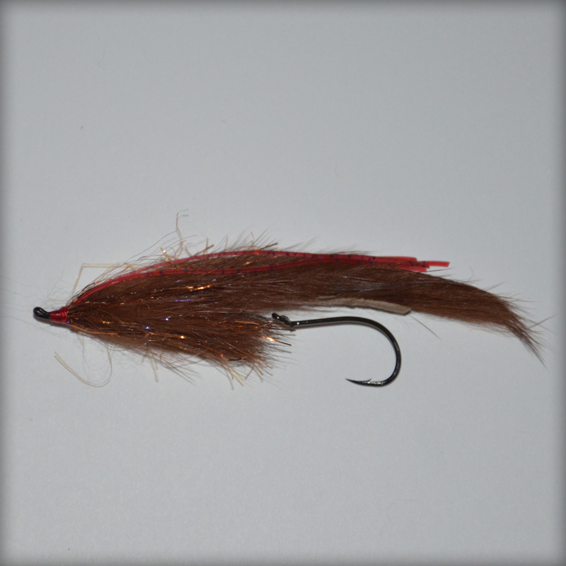 PPF  FM TRAILER HOOK BROWN w/ CRAZY LEGS